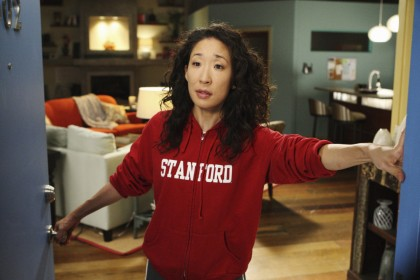 Sandra Oh, Grey's Cover